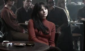 Carey Mulligan en el papel de Jean, la exnovia de Llewyn, en el Glaslight Café (Foto: Alison Rosa ©2012 Large Strange Trip)