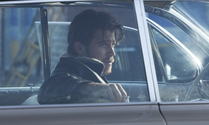 Garrett Hedlung en el papel de Johnny Five, el chico beat (Foto: Alison Rosa © 2012 Large Strange Trip)