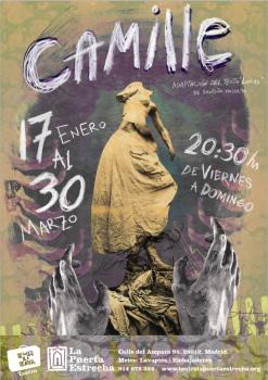 Cartel de Camille (Turlitava Teatro, 2014)