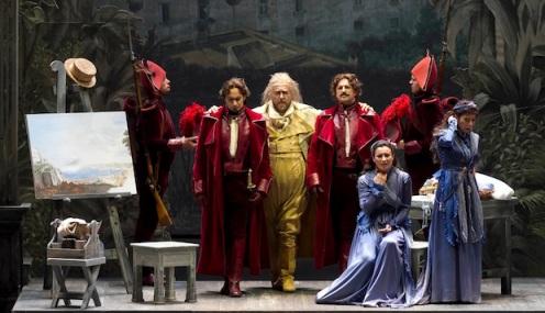 Una escena de la reciente versión de Claudia Boasso (Turín, 2012)