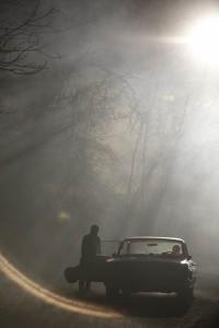 Llewyn abandona el coche que le hubiera llevado hasta Chicago (Foto: Alison Rosa © 2012 Large Strange Trip)