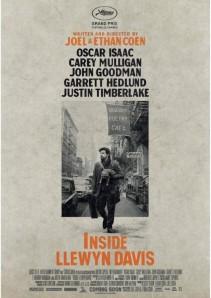 """Cartel """"Inside Llewyn Davis"""" (Joel & Ethan Coen, 2013)"""