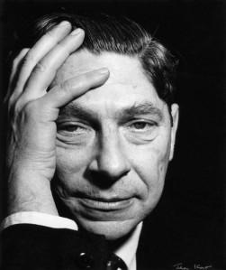 Arthur Koestler, retratado por Ida Kar en 1959 (National Portrait Gallery, Londres)