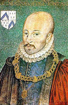 Retrato de Montaigne, por Daniel Dumonstier (Fuente: Wikipedia)