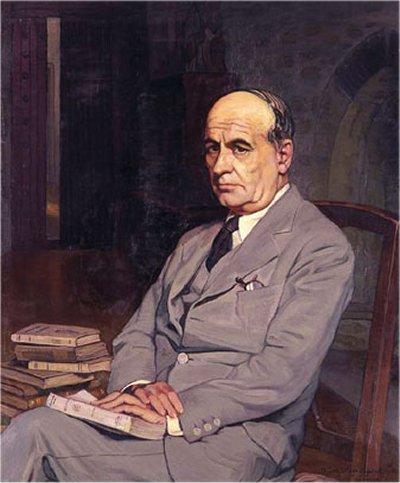 José Ortega y Gasset retratado por Ignacio Zuloaga (1920)