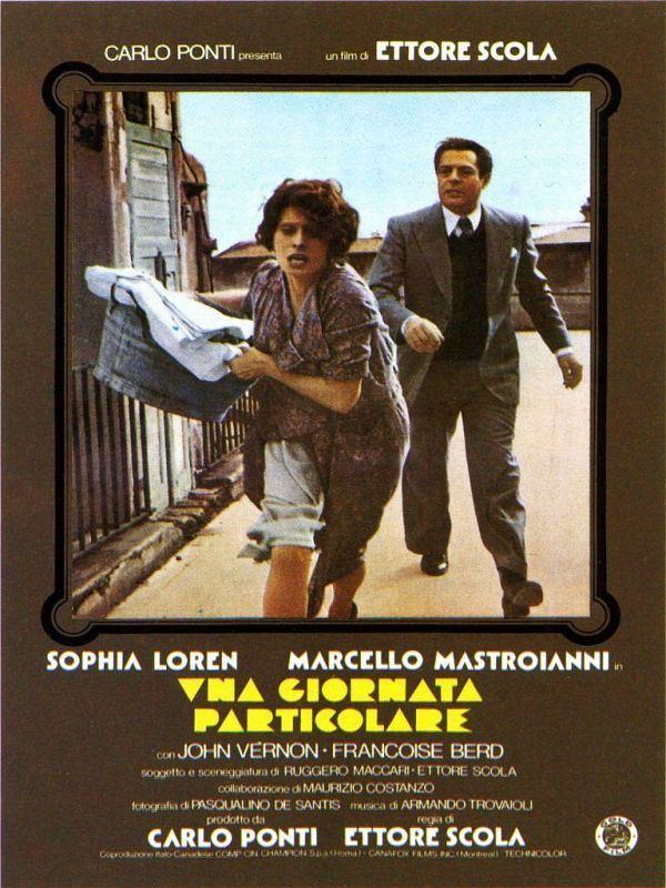 Cartel oficial de Una giornata particolare (Ettore Scola, 1977)