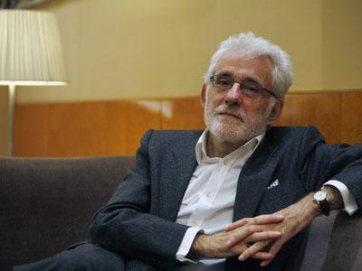 Ángel González García en 2011 (Foto: Graciela del Río)