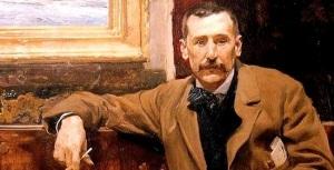 Retrato de Benito Pérez Galdós, por Joaquín Sorolla, 1894 (hoy en Casa-Museo Benito Pérez Galdós, Gran Canaria)