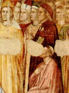 Retrato de Dante atribuido a Giotto, ca. 1320 (Museo del Bargello, Florencia)