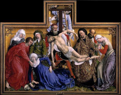 Rogier van der Weyden, Descendimiento, ca. 1435 / ©Museo del Prado