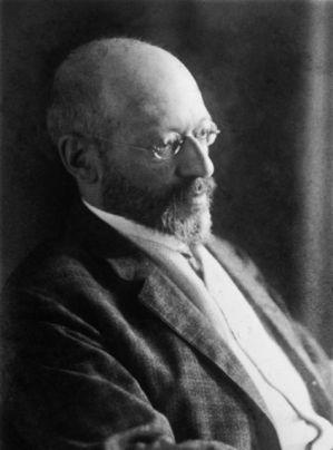 Georg Simmel-hacia 1914 / Bildarchiv Preussischer Kulturbesitz