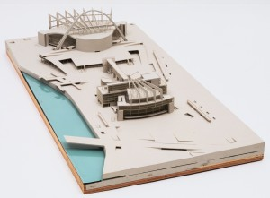 Le Corbusier, Maqueta del Palacio de los Soviets, Moscú (1931-1932) / MoMA
