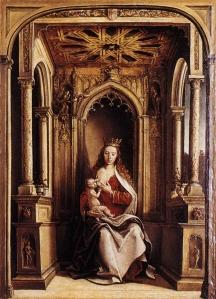 Círculo de Pedro de Berruguete, Virgen con el Niño (posterior a 1483) / ©Museo del Prado