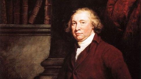 Edmund Burke retratado por James Barry, 1774 (National Gallery, Irlanda)