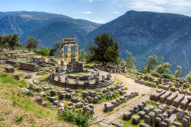 Oráculo de Delfos / Fuente: Atenas.net