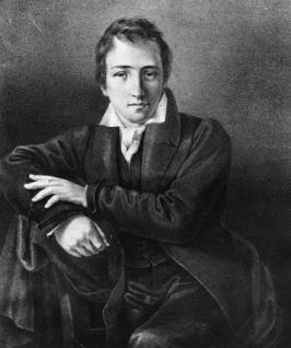 Heinrich Heine (c. 1827) / Getty Images / Fuente: Encyclopaedia Britannica