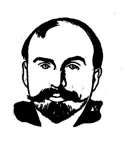 Retrato de Schwob firmado por Félix Valloton (1898) / Fondation Marcel Schwob