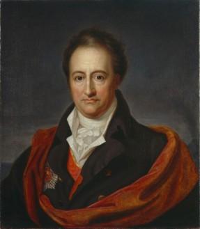 Goethe, por Gerhard von Kügelgen (1808-1809) / Librería de la Universidad de Tartu (Estonia)