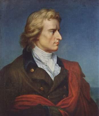 Friedrich Schiller retratado por Gerhard von Kügelgen / Fuente: Wikipedia