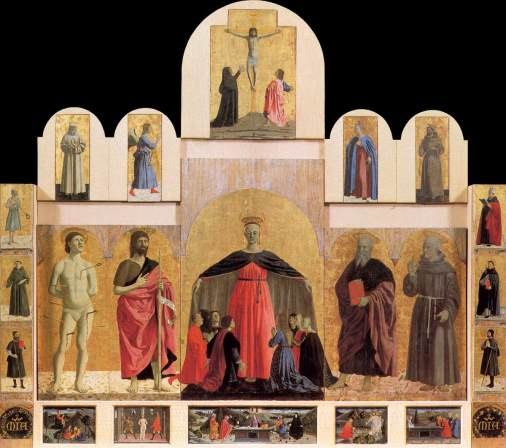 Políptico de la Misericordia / Pinacoteca Comunale (Borgo Sansepolcro)