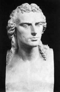 Busto de Schiller en mármol, por Heinrich Dannecker (1794) / Fuente: Web Gallery of Art
