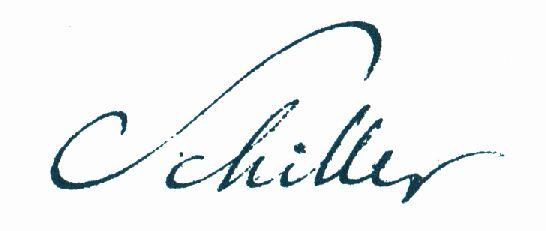 Schiller_Autogram