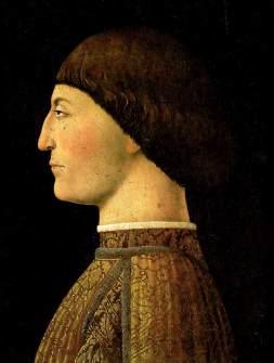 Piero della Francesca, Retrato de Sigismondo Pandolfo Malatesta (1451) / Museo del Louvre