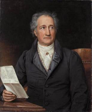 Retrato de Goethe, por K. Joseph Stieler (1828) / Neue Pinakothek (Múnich)