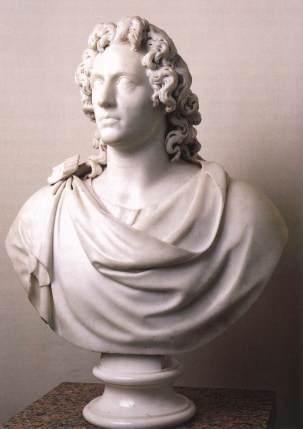Busto de Goethe, por Alexander Trippel (1789) / Residencia de Bad Arolsen (Kassel)