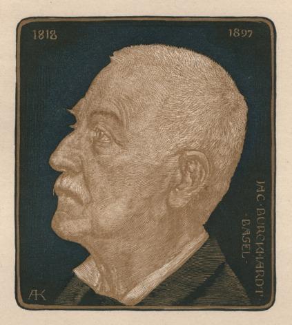 Sello conmemorativo de Albert Krüger (1897) / Fuente: Conrad R. Graeber