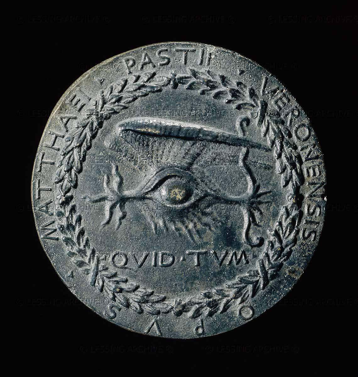 Matteo de' Pasti - Quid Tum (ca.1450, British Museum)