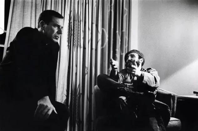 Jean Daniel Fidel Castro 21 nov 1963 MARC RIBOUD